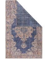 Tapis double face ana Bleu