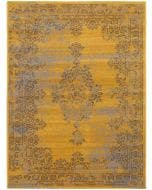 Tapis Antique Jaune