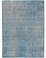 Tapis Antique Bleu
