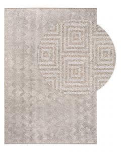 Tapis de laine Jacob Gris clair