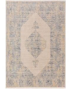 Tapis en viscose Haven Bleu