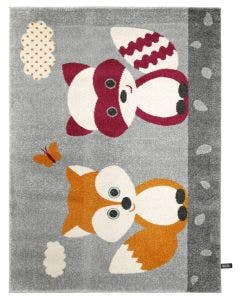 Tapis enfant Fantasia Orange
