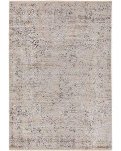 Tapis en viscose Jared Gris clair