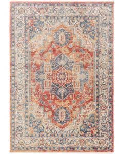 Tapis en viscose Haven Rouge