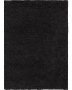 Tapis de laine Bent Plain Anthracite