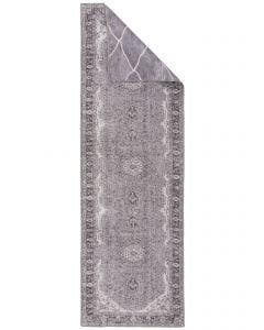 Tapis de couloir double face ana Gris
