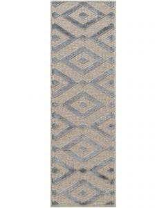 Tapis de couloir North Beige/Gris