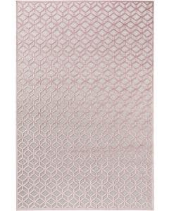 Tapis en viscose Woody Rose