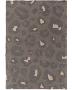 Tapis de laine Animal Gris clair