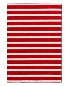 Tapis enfant Noa Kids Stripes Rouge