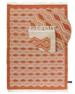 Tapis de laine Fresh Kelims Orange
