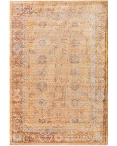Tapis en viscose Yuma Orange