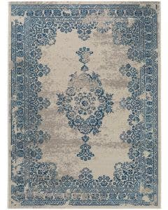 Tapis Antique Beige/Bleu