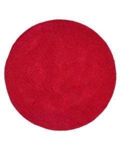 Tapis à poils longs Swirls Rouge