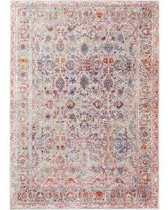 Tapis Visconti Multicouleur/Gris
