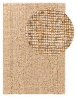 Tapis de jute Sam Natural_Gelb